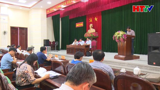 Hội nghị cán bộ cốt cán TP Hà Tĩnh