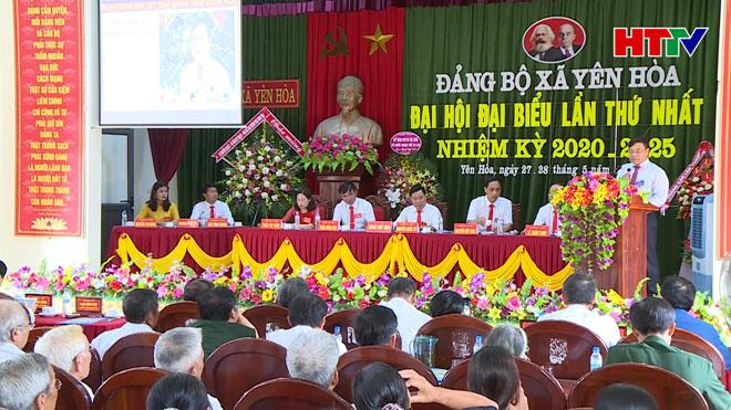 Đại hội đại biểu Đảng bộ xã Yên Hòa