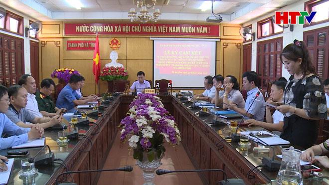 Nhiều đơn vị ở TP Hà Tĩnh tự nguyện đóng góp kinh phí, hỗ trợ hộ nghèo