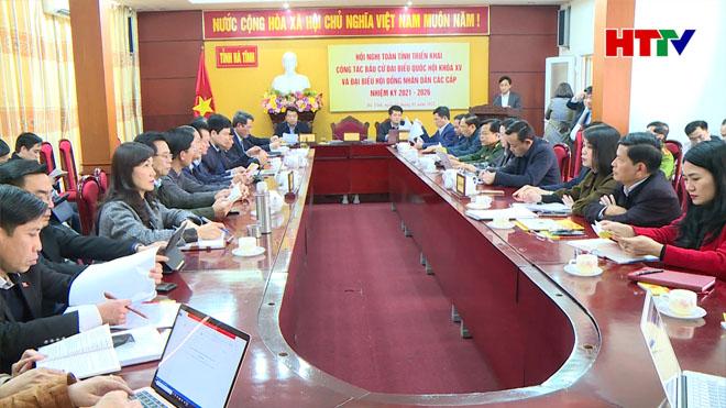 Dự hội nghị có Chủ tịch UBND tỉnh Trần Tiến Hưng.