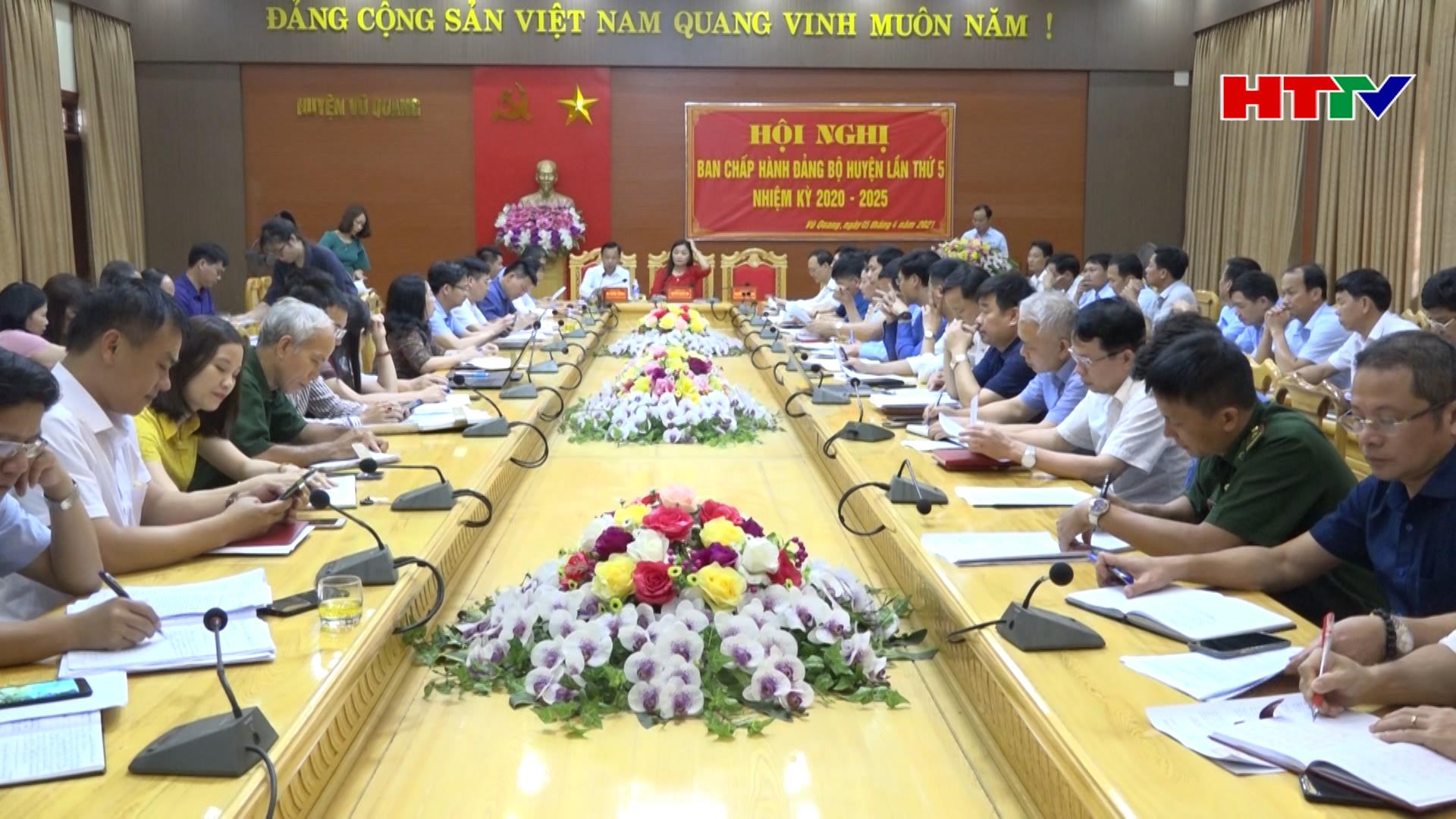 Vũ Quang chọn khâu đột phá để phát triển