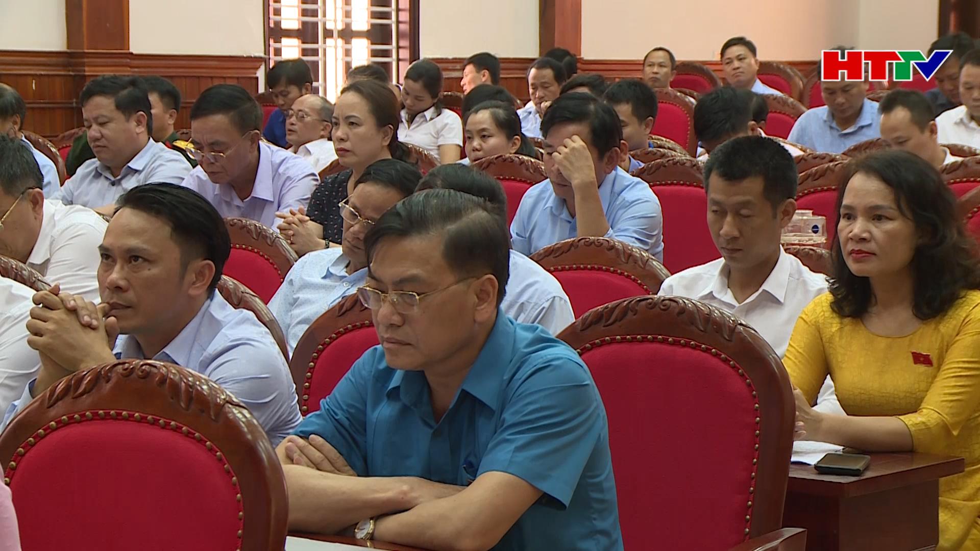 HĐND huyện Cẩm Xuyên dấu ấn một nhiệm kỳ hoạt động