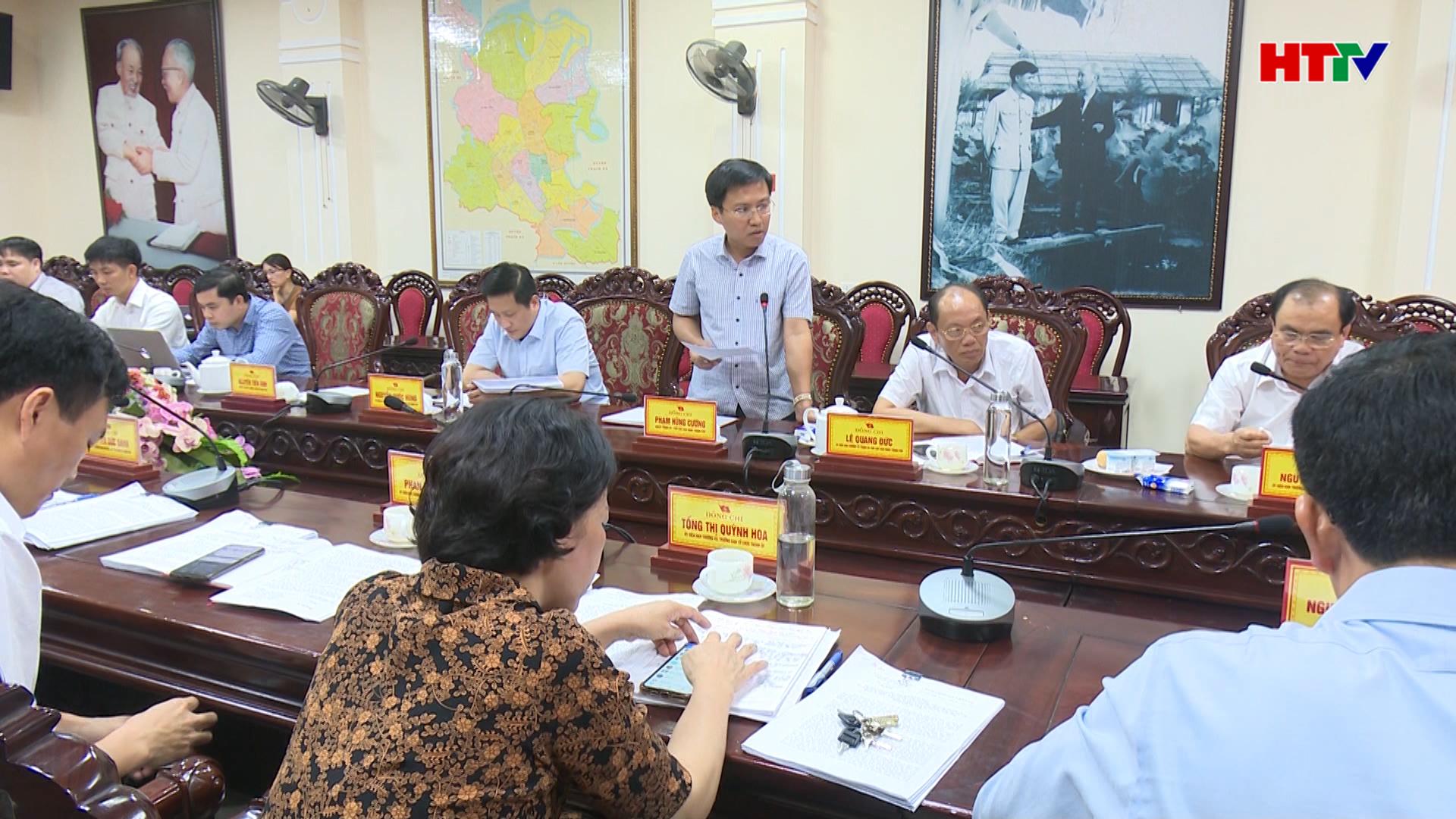 Phát triển TP Hà Tĩnh trở thành một trong những đô thị trung tâm vùng Bắc Trung Bộ